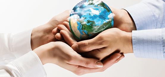 ziemia na dłoni